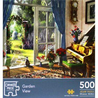 Product shot Garden View 500 Piece Jigsaw Puzzle