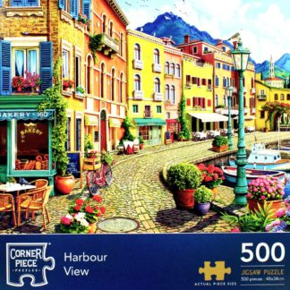 Product shot Harbour View 500 Piece Jigsaw Puzzle