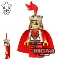 Product shot LEGO Castle - Kingdoms - Lion King - Plume