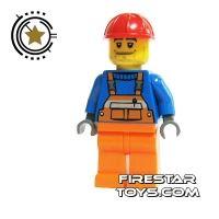 Product shot LEGO City Mini Figure - Construction Worker