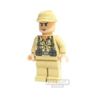 Product shot LEGO Indiana Jones Mini Figure - German Soldier 2