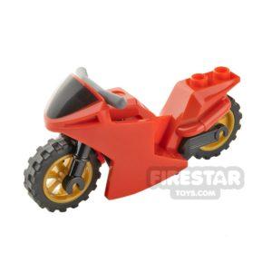 Product shot LEGO Motorbike