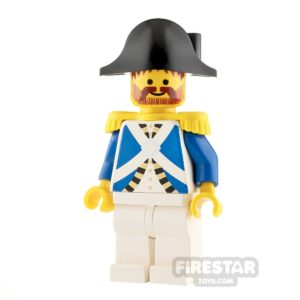 Product shot LEGO Pirate Minifigure Imperial Soldier Harbor Sentry
