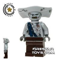 Product shot LEGO Pirates Of The Caribbean Mini Figure - Maccus