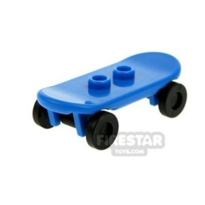 Product shot LEGO - Skateboard - Blue