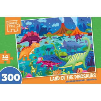 Product shot Land Of The Dinosaurs 300 Piece Jigsaw Puzzle