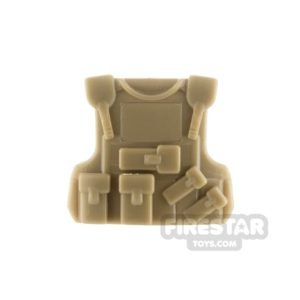 Product shot SI-DAN - B20 Tactical Vest - Dark Tan