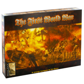 Product shot The First World War Strategy Board Game