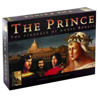 Product shot The Prince - The Struggle Of House Borgia Strategy Card Game