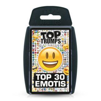 Top 30 Emotis Top Trumps Card Game