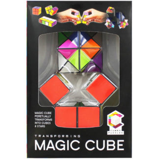 Product shot Transforming Magic Cube Puzzles