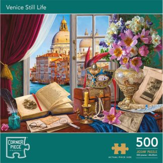 Product shot Venice Still Life 500 Piece Jigsaw Puzzle