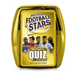 World Footballs Stars Top Trumps Quiz Card Game