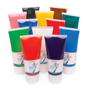 Acrylic Paint - 6 per pack (Pack A)
