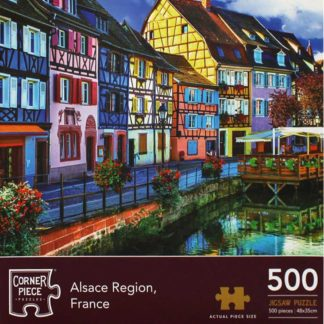 Product shot Alsace Region France 500 Piece Jigsaw Puzzle