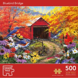 Product shot Bluebird Bridge 500 Piece Jigsaw Puzzle