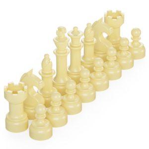Product shot BrickMini Chess Pieces - Tan Set