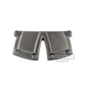 Product shot BrickWarriors - City Watch Tassets - Steel