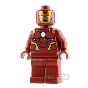 Product shot Custom Design Minifigure Iron Man