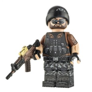 Product shot Custom Design Minifigure Mercenary