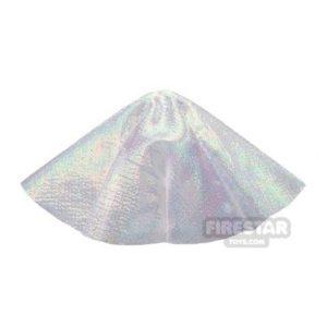 Product shot LEGO Cape - Invisibility Cloak - Translucent