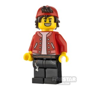 Product shot LEGO Hidden Side Minifigure Jack Davids Backwards Cap