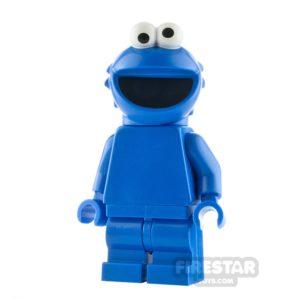 Product shot LEGO Ideas Sesame Street Cookie Monster