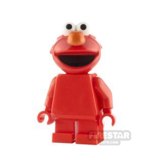 Product shot LEGO Ideas Sesame Street Elmo
