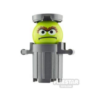 Product shot LEGO Ideas Sesame Street Oscar the Grouch