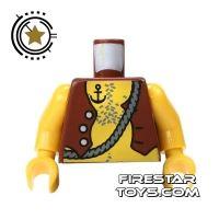 Product shot LEGO Mini Figure Torso - Pirate