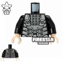Product shot LEGO Mini Figure Torso - Teenage Mutant Ninja Turtles - Shredder Armour