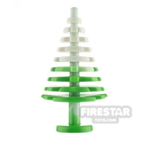 Product shot LEGO Pine Tree with Snow