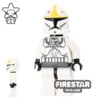 Product shot LEGO Star Wars Mini Figure - Clone Pilot - Black Head