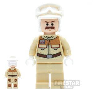 Product shot LEGO Star Wars Mini Figure -  Rebel Officer