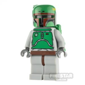 Product shot LEGO Star Wars Minifigure Boba Fett