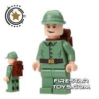 Product shot Lego Indiana Jones Mini Figure - Russian Guard 3