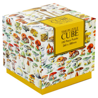Product shot Mushrooms 100 Piece Jigsaw Puzzle