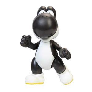 Super Mario 10cm Figure-  Black Yoshi With Egg