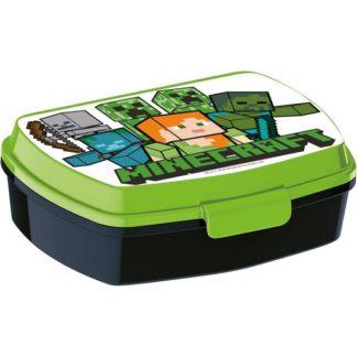 2 pc Minecraft Waterbottle and Sandwich box - 400ml
