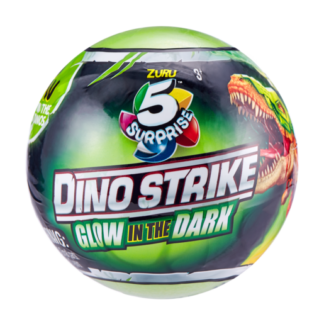 5 Surprise Dino Strike Glow In The Dark (Styles Vary)