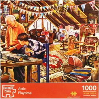 Product shot Attic Playtime 1000 Piece Jigsaw Puzzle