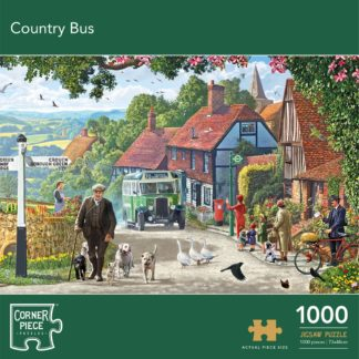 Product shot Country Bus 1000 Piece Jigsaw Puzzle