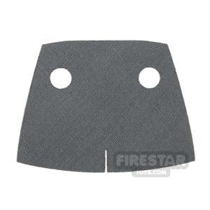 Product shot Custom Design Cape - Trenchcoat - Square Collar - Dark Gray