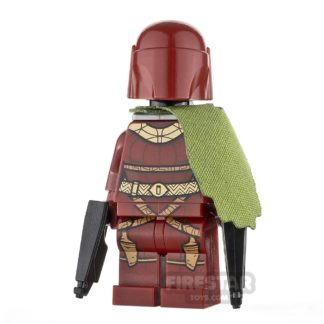 Product shot Custom Minifigure SW Red Death Mandalorian