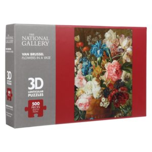 Flowers in a Vase 3D Jigsaw Puzzle (500 Pieces)