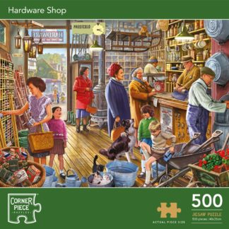 Product shot Hardware Shop 500 Piece Jigsaw Puzzle