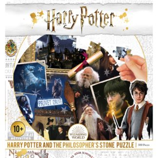 Product shot Harry Potter And The Philosopher'S Stone 500 Piece Jigsaw Puzzle