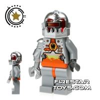 Product shot LEGO Agent Mini Figure - Magma Commander