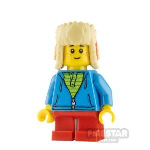 Product shot LEGO City Minfigure Boy Winter Hat