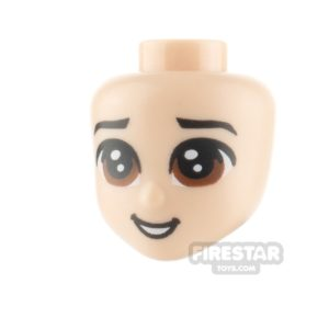 Product shot LEGO Disney Princess Minifigure Heads Large Brown Eyes